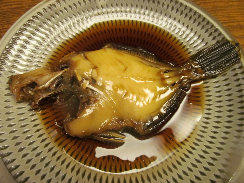 旨魚料理】カワハギの肝入り煮付...